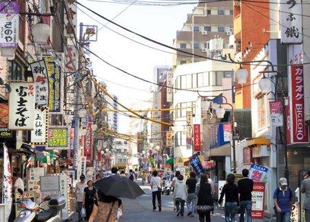 大塚銀の鈴通り商店街