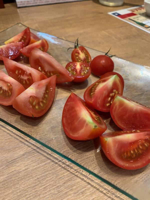 一口トマト