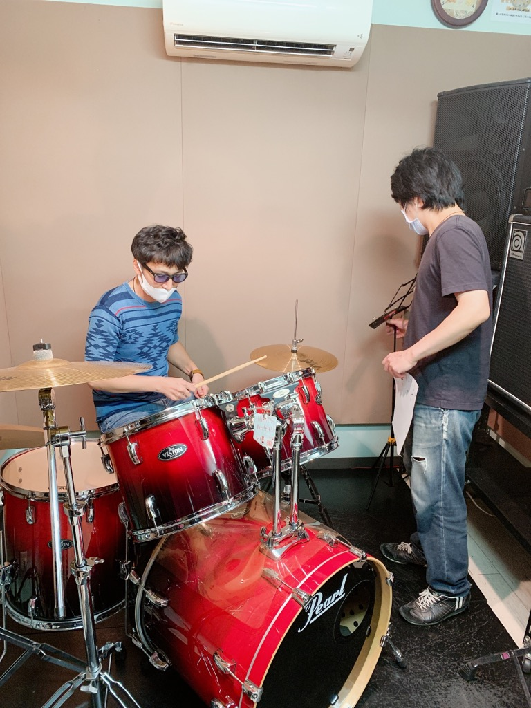 ドラム体験