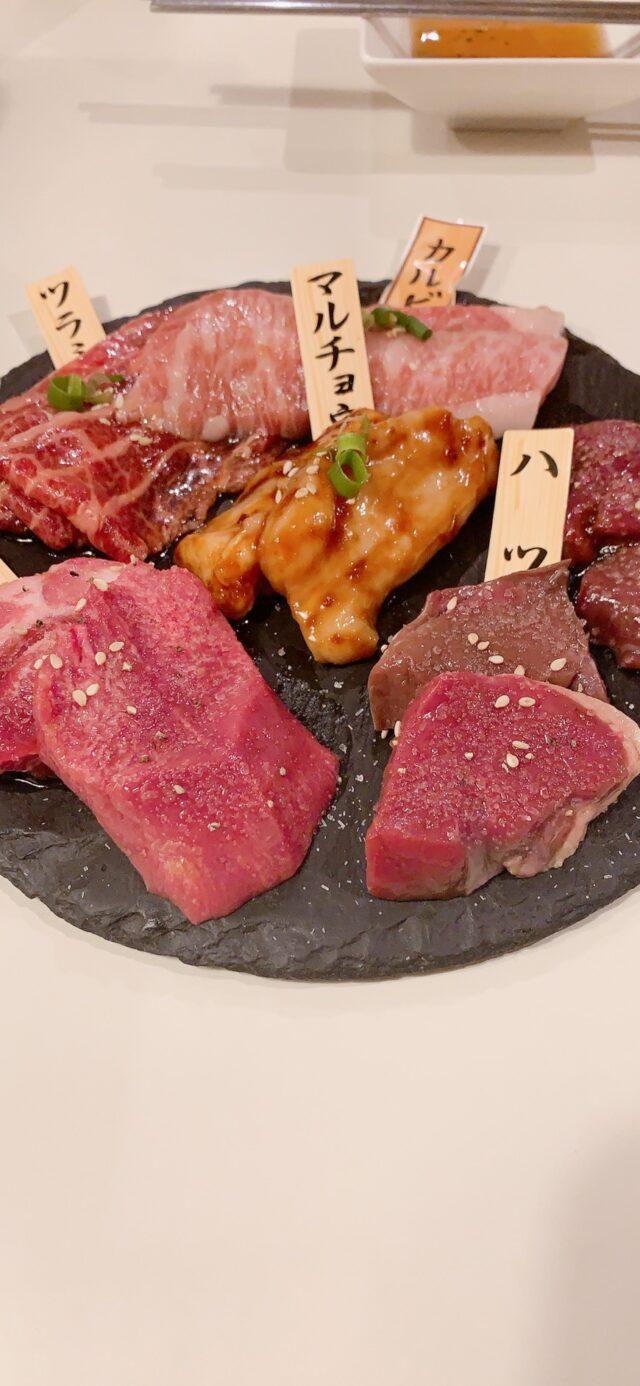 お肉6点盛り