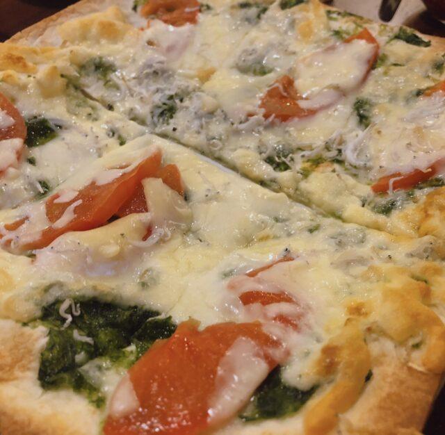 青のりとシラスのピザ